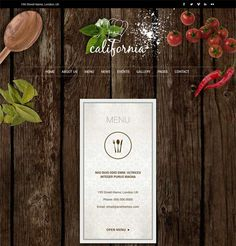 This restaurant WordPress theme features a responsive layout, jQuery and CSS3 animations, support for image or video backgrounds, Bootstrap integration, menu, reservations, events, about, contact, and blog page templates, Twitter integration, and more.
