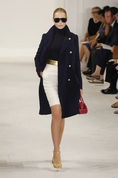 Ralph Lauren at New York Fashion Week Spring 2006 - Runway Photos Classy Outfits, Chic Outfits, Fashion Outfits, Womens Fashion, Moda Outfits, Ralph Lauren Style, Ralph Lauren Fashion, New York Fashion, Minimal Chic