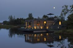 Bluefield Houseboats offers various options and sizes, depending on what the customer wants