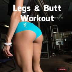 Legs & Butt Workout For Women (Video) | GYM FLOW 100