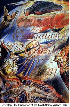 JERUSALEM (from 'Milton')            by: William Blake (1757-1827)            ND did those feet in ancient time          Walk upon England's mountains green?          And was the holy Lamb of God          On England's pleasant pastures seen?                     And did the Countenance Divine          Shine forth upon our clouded hills?          And was Jerusalem builded here          Among these dark Satanic Mills?                     Bring me my bow of burning gold!          Bring me my…