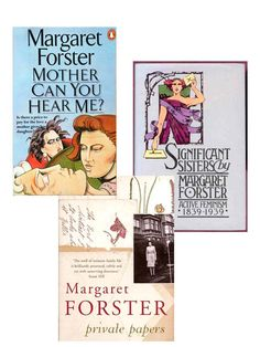 Three of Margaret's most popular books.