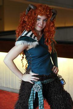 A cool Disney Princess Faun - Merida