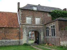The Chateau of Hougoumont, which saw some of the fiercest fighting during the battle.