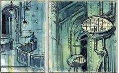 Fallout Concept Art, Fallout Art, Environment Concept, Post Apocalyptic, Vaulting, Skyrim, Art Reference, Explore, Artist