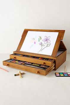 Deluxe Art Set #anthropologie