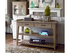 Paula Deen by Universal Home Entertainment Down Home TV Console/Serving Table 471283 - Kittle's Furniture - Indiana and Ohio