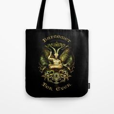 Baphomet Tote Bag by dagmarreneeritter