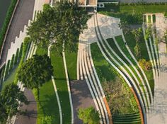 landscape architecture curved space - Google Search