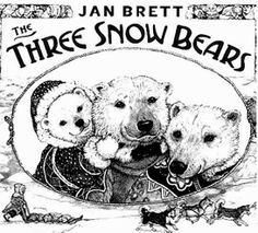 The Three Snow Bears By Jan Brett Lapbook Front Page