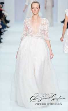 i want to float around in elie saab couture