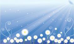 FLORAL / Free vector Vector floral Floral scene