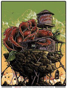 Pearl Jam Poster by Jonathan Bergeron