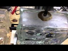 Drill Holes in Glass Blocks - YouTube