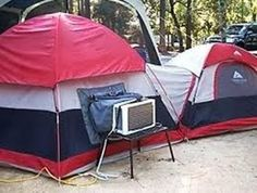 camping in hot weather with an a/c (we give you tips where you don't need to worry about bringing an a/c when its hot!!)
