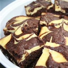 Cheesecake Brownies Allrecipes.com
