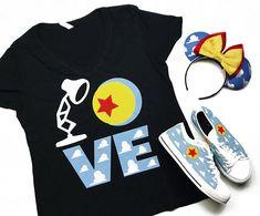 Disney crafts Shirts - LOVE Toy Story Pixar Shirt,Disney Shirt for women, Disney Shirt for girls, Pixar Shirt, Plus Size Cute Disney Outfits, Disney World Outfits, Disneyland Outfits, Disney Inspired Outfits, Disney Style, Disney Clothes, Disney Fashion, Disneyland Shirts, Disneyland Trip