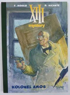 XIII - Kolonel Amos - Grote luxe hc met linnen rug - 1e druk (2011) - W.B.