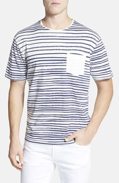Rodd & Gunn 'Wenderholm' Stripe Pocket T-Shirt available at #Nordstrom