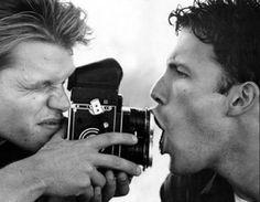 Matt Damon and Ben Affleck...their Good Hunting days are my favourite.