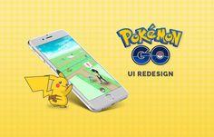 다음 @Behance 프로젝트 확인: \u201cPokémon GO - UI Redesign\u201d https://www.behance.net/gallery/41389147/Pokmon-GO-UI-Redesign
