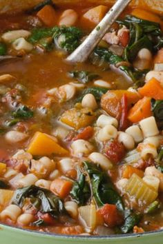 What we love about winter: We get to stay in and indulge in our favorite soul-warming, ultra-comforting dishes. Like these 20 tried-and-true comfort-food recipes from our food idol, Ina Garten. RELATED: The 11 Best Ina Garten Recipes of All Time Winter Soups, Winter Food, Vegetarian Recipes, Cooking Recipes, Healthy Recipes, Oven Recipes, Vegetarian Cooking, Healthy Soup, Easy Cooking
