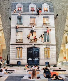The fatastic 'Dalston House', by Leandro-Erlich which was alas, last summer but still worth a puc I think!