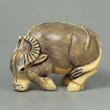old animal netsuke - Google Search