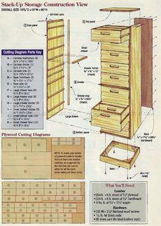 #3230 Stack Up Storage Plans - Workshop Solutions