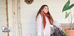 Cosy Brick sjaal gehaakt met Durable Cosy fine door Lisanne van happy Handmade Living. Bricks, Cosy, Brick