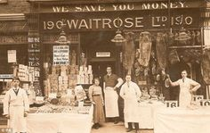 Waitrose, the favoured supermarket of the middle classes was acquired by the John Lewis partnership in 1937