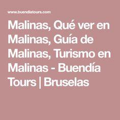 Malinas, Qué ver en Malinas, Guía de Malinas, Turismo en Malinas - Buendía Tours | Bruselas