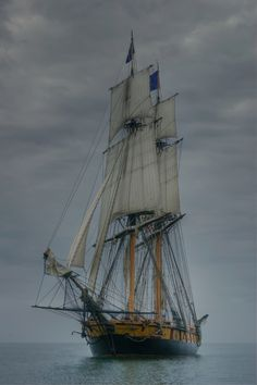 A Brig might be better suited than a schooner.... I may need to re-think my ship....
