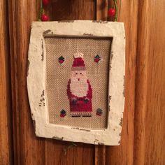 Santa Claus Christmas Cross Stitch