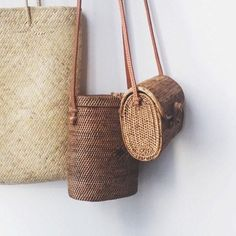 love these woven bags
