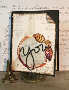 Two Crafting Sisters: Thinking of You...in Paris!