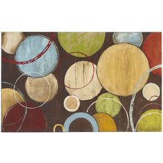 Pier One Spheres Wall Art ($149) ❤ liked on Polyvore