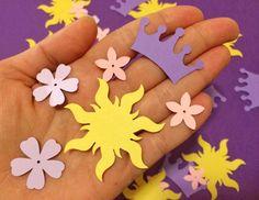 Confeti de Tangled Tangled partido partido de por CraftsByBiessel