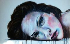 "Saatchi Online Artist Valentina De Chirico; Painting, ""P.M."" #art"
