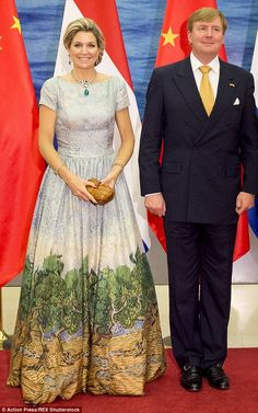 26-10-2015 King Willem Alexander and Queen Maxima