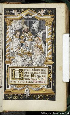 Book of Hours, MS M.632 fol. 61r - Images from Medieval and Renaissance Manuscripts - The Morgan Library & Museum