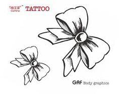 Risultati immagini per fiocco disegno per tatuaggio