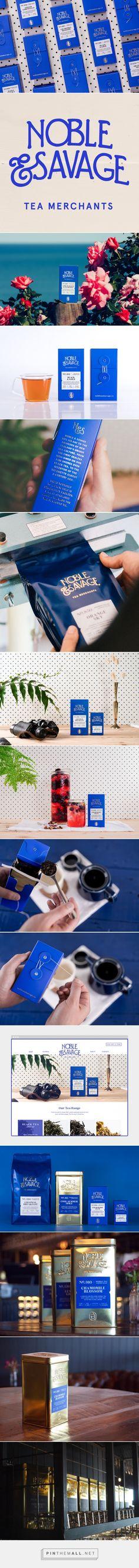 Good design makes me happy: Project Love: Noble & Savage Tea Merchants - created via https://pinthemall.net