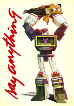 soundwave : say anything by =m7781 on deviantART