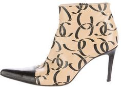 Designer Clothes, Shoes & Bags for Women Tan Leather Boots, Chanel Boots, Black Ankle Booties, Kitten Heels, Just For You, Toe, Booty, Kicks, Zipper