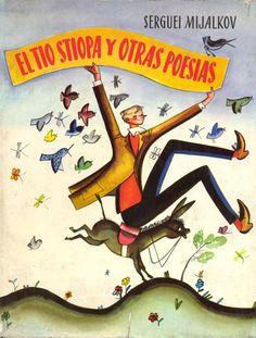 """Carátula del libro de """"El tío Stiopa y otras poesías"""" del poeta Serguei Mijalkov."""