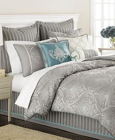 Bedding Set Shopping: Martha Stewart Bedding, Briercrest 9 Piece King Comforter Set. #beddingset #bedset #comforterset #bedcomforter #kingsizebed http://shpst.ly/us330594503?pid=uid7524-1482718-77