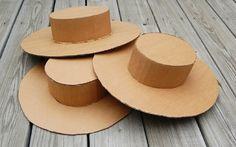 КАК СДЕЛАТЬ ШЛЯПУ ИЗ ФЕТРА СВОИМИ РУКАМИ: Как сделать шляпку из картона | Норма редакции