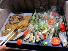Sardines à la Provençale, cuisson à la Plancha