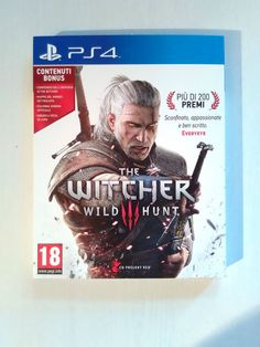 The Witcher 3: Wild Hunt - Day One Edition PS4 by Namc - Usato Pari al NUOVO -